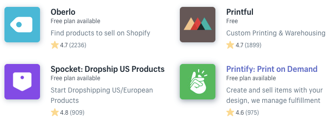 shopify nl dropshipping